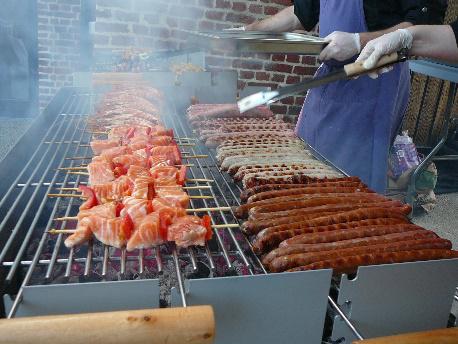 Barbecue traiteur sur site